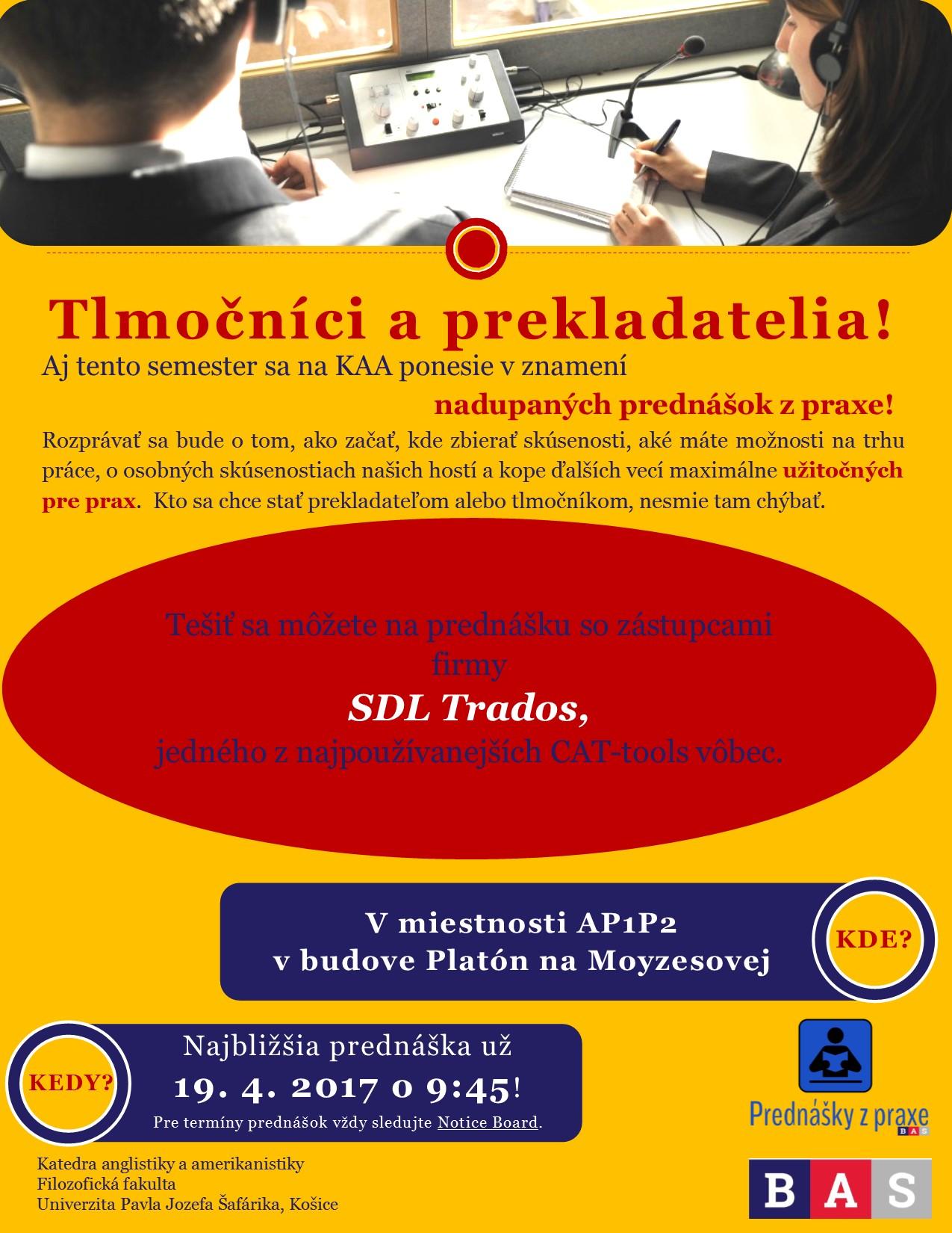 9:45 Prednáška z praxe: SDL
